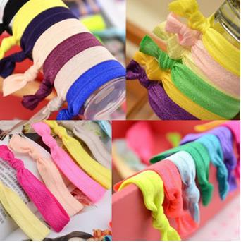 beautiful hair accessories women girls candy color hair rope fashion hair bands nice elastic for hair 100pcs/lot ARC1011(China (Mainland))