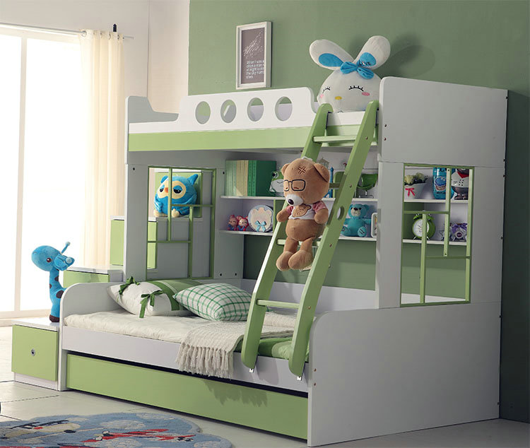 Special package of logistics on the children's furniture 6030A bunk bed picture boy(China (Mainland))
