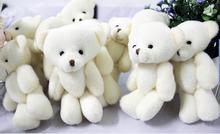 Buy 1000pieces/lot 12cm Bear cartoon bouquet bear doll plush joints Naked teddy bear doll mini bear doll for $506.00 in AliExpress store