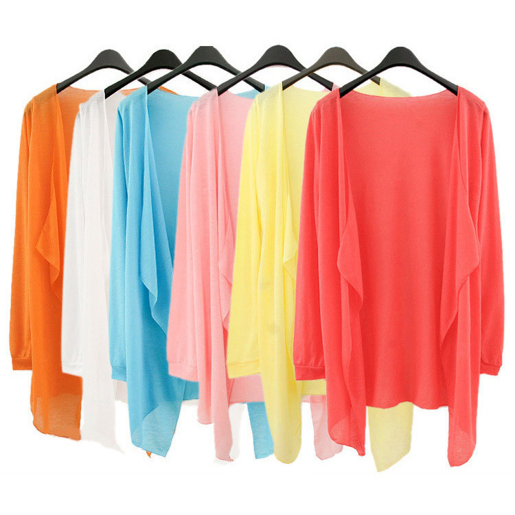 Z0706 sun protection clothing female transparent long for Women s sunscreen shirts