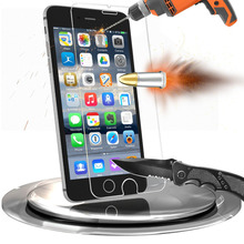 Premium Mobile Screen Guard Cover Anti-Shock Glass Protective Film Tempered Glass Screen Protector for iPhone 6 Plus
