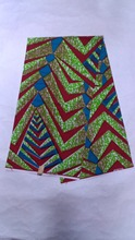 Fashion African super wax fabric in green high qualtiy African cotton wax prints fabric. tina-9-3!