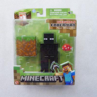 Minecraft Overworld 4 Enderman Figure &amp; Accessories New Sealed<br><br>Aliexpress