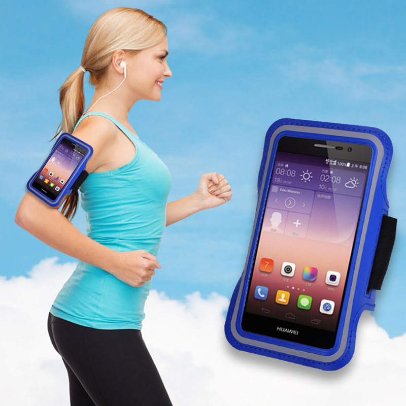Brazalete Deportivo Universal Jogging Gym Sports Armband For Xiaomi mi4 For huawei ascend p7 For Honor 3C For Honor 6 Arm Case