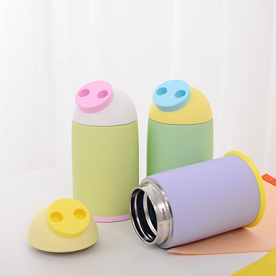 Lovely Cartoon Stainless Steel Thermos Bottle 280ml Thermo Vacuum Flask Thermoses Thermal Coffee Garrafa Termica Sport Termos(China (Mainland))