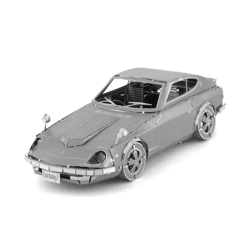 Hot Sale 3D Metal Puzzle Model DIY Vehicle Scale Transportation NISSAN Coupe Car Jigsaw Puzzle(China (Mainland))