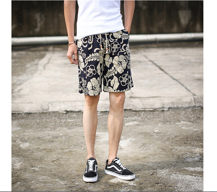 2015 Tide TowardsC2 Latest Hot Fashion Casual Printing Shorts Male Five Kinds Sizes In Three Colors Cool Summer Style Breathable(China (Mainland))