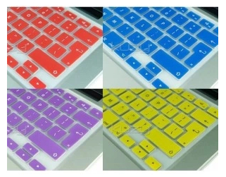 100pcs Silicone EU/UK Silicone Protective Keyboard Cover Films for apple MacBook air retina/Pro 13 15 17 freeship(China (Mainland))