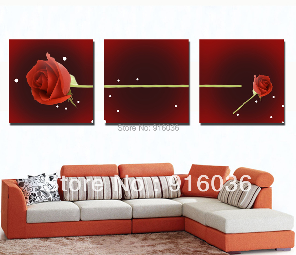 Buy 3 panels print poster abstract modern decoration for Buy canvas wall art