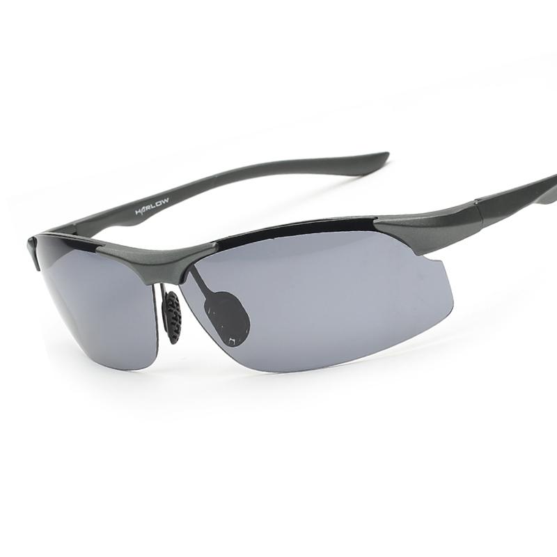 new sports polarized sunglasses rimless polaroid sun