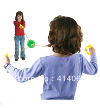 Children's toys jumbo speed balls through pulling the ball indoor and outdoor games toy gift free shipping(China (Mainland))
