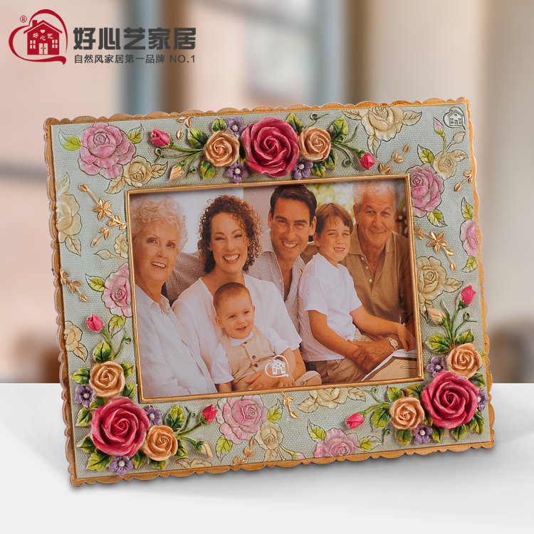 Home supplies 6 photo frame photo frame picture frame rose photo frame