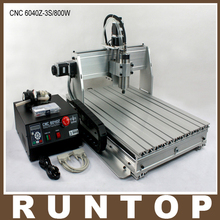 800W Three-axis CNC Router Engraver Engraving Milling Drilling Cutting Machine CNC 6040