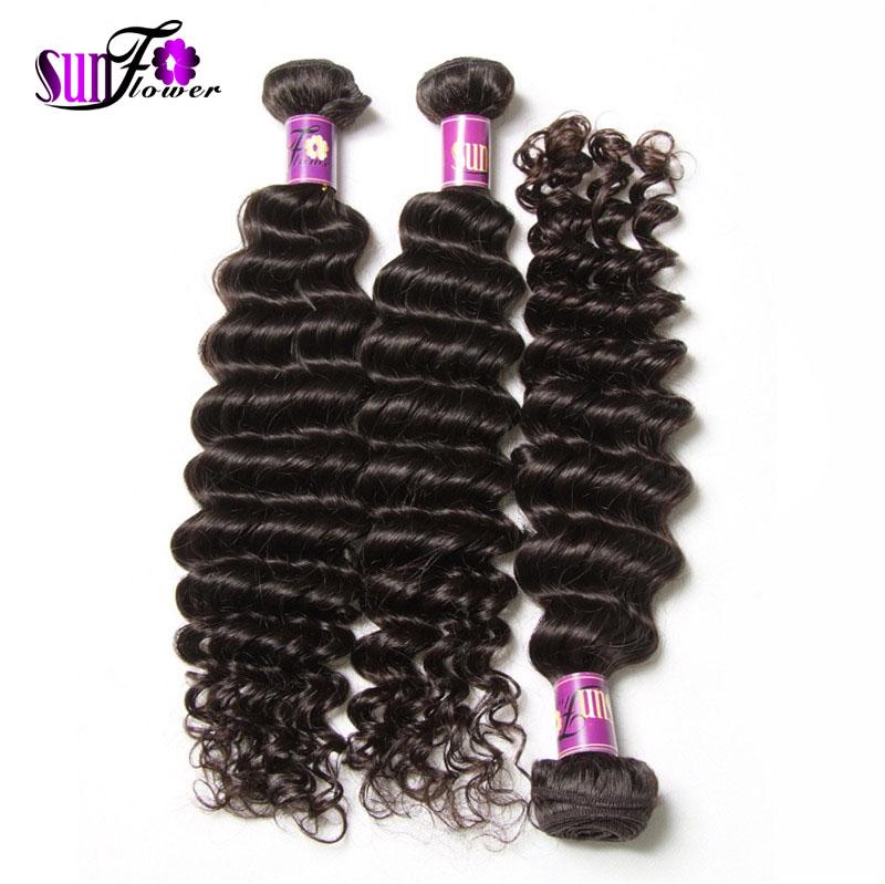 Natural Curly Hair Bundles 7a Peruvian Deep Curly Virgin Hair Mixed Length Vip Hair Company Virgin Peruvian Curly Hair weaves(China (Mainland))