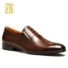 39-44 hommes oxfords Top qualité beau confortable Z6 marque hommes chaussures de mariage # W382(China (Mainland))