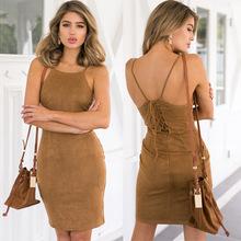 And the wind back straps sling bag hip skirt backless sexy slim Dress Size skirt skirt