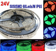 Buy 16.4FT 5050 RGB LED Strip 5M 300 Leds SMD Flexible light 60led/M waterproof ip65 24V DC f/Lorry Truck Carvan Bus Coach multicolo for $12.16 in AliExpress store