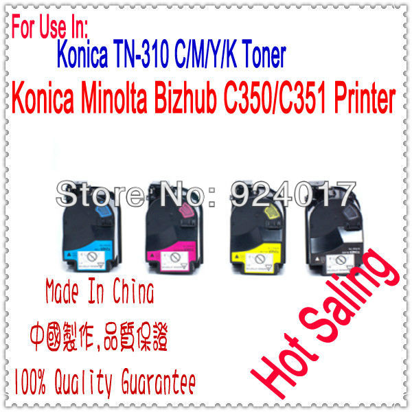 Color Cartridge Toner For Konica Minolta Bizhub C350 Laser Printer,K&amp;M C350 Toner For Konica Minolta Bizhub 4053-401/701/601/501<br><br>Aliexpress