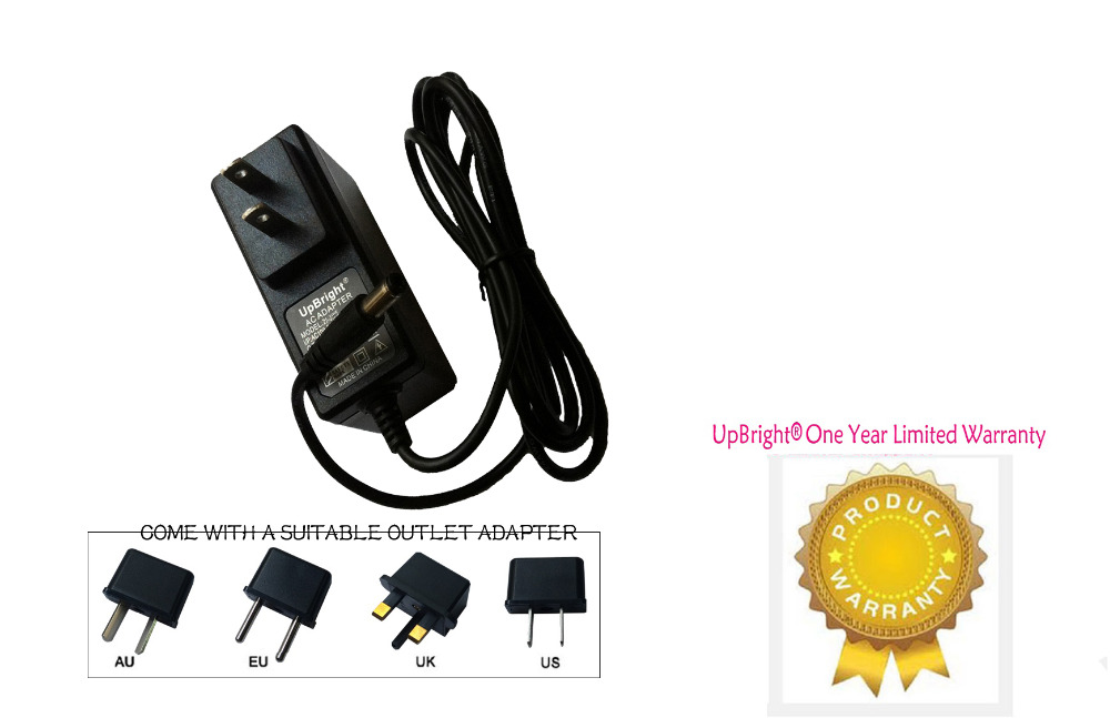 UpBright New Barrel AC / DC Adapter For Kids Kidtrax CAT Bulldozer Tractor 6V Battery Powered Ride On Toy KT1092WM Kid Trax 6VDC(China (Mainland))