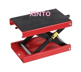 500KG/1102LB with hand cranking Motorcycle stand motorcycle lift table motorcycle Scissor Lift table Garage Shop Stand(China (Mainland))