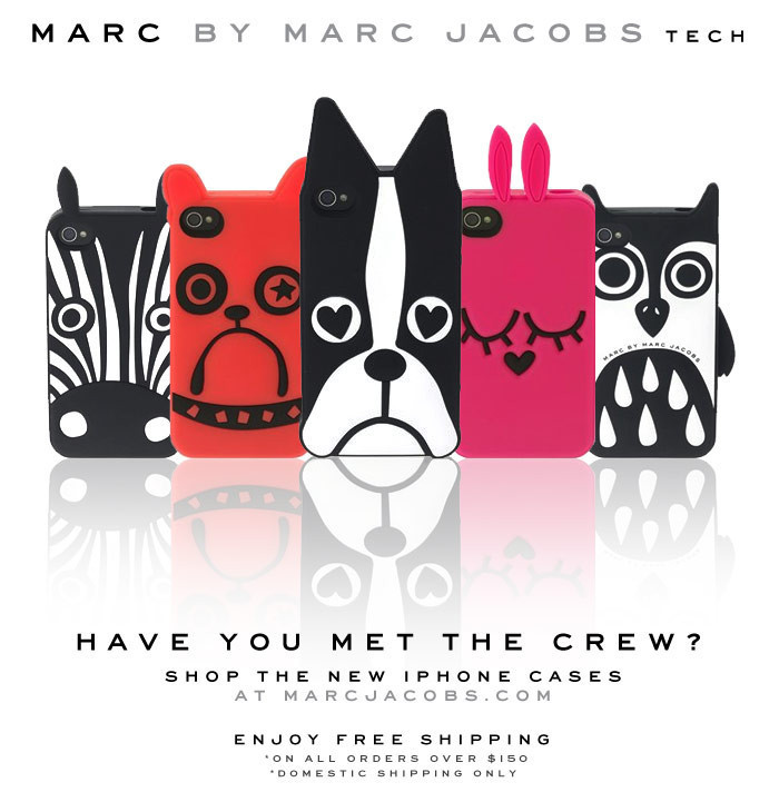 Marc.Jacobs funny cute Love Dog/Zebra/Rabbit phone cover case fundas coque for apple iphone 4 4s 5 5s 6 plus soft silicone case(China (Mainland))