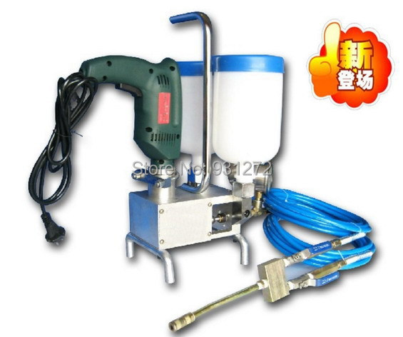 Double liquid type!! Water Stop Crack Injection POR KIT EPOXY INJECTION , PUMP Efficient for house crack repair PU&amp;Epoxy inject<br>
