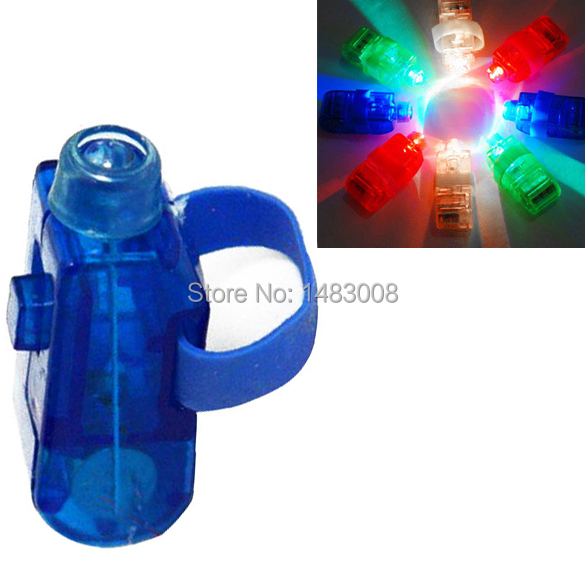 High Quality 8 Color LED Laser Finger Ring Lights Beam Torch Party High Quality(China (Mainland))