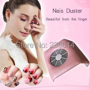 Free Shipping Pink Color Nail Art Suction Dust Collector Machine Vacuum Cleaner Salon Tool(China (Mainland))