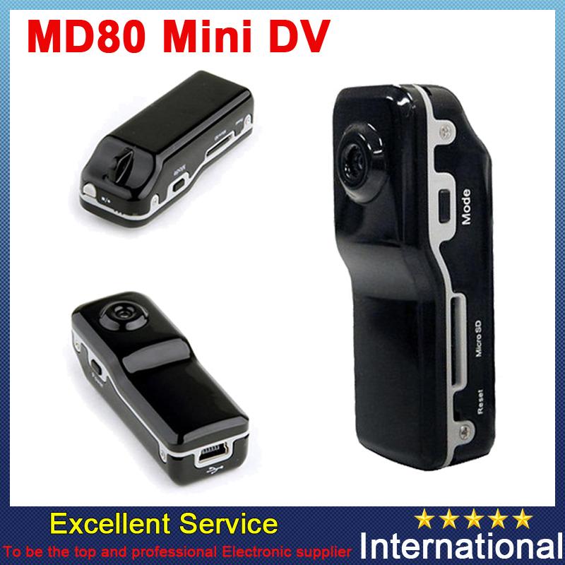 Mini DV Recorder Camcorder DVR Hidden Video Camera Web Cam MD80(China (Mainland))
