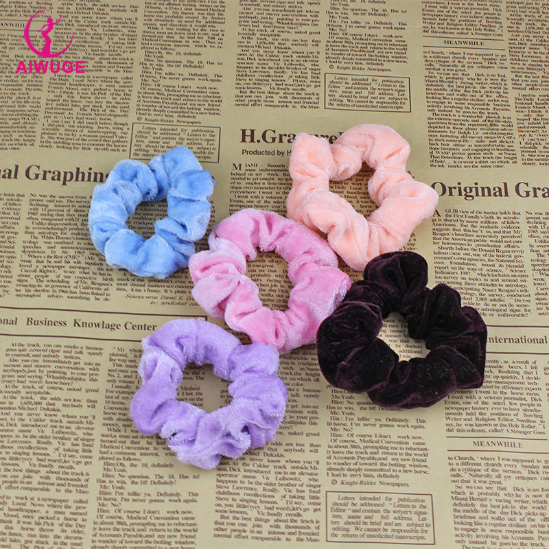 New Lovely Solid Colors Universal Elastic Hair Bands Pink Women/Girls Ballet Hair Accessories(China (Mainland))