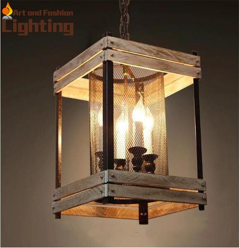 Loft Retro Iron Pendant Lights Special Warehouse Attic Lamp E14 4-Head Lights Original Design(China (Mainland))