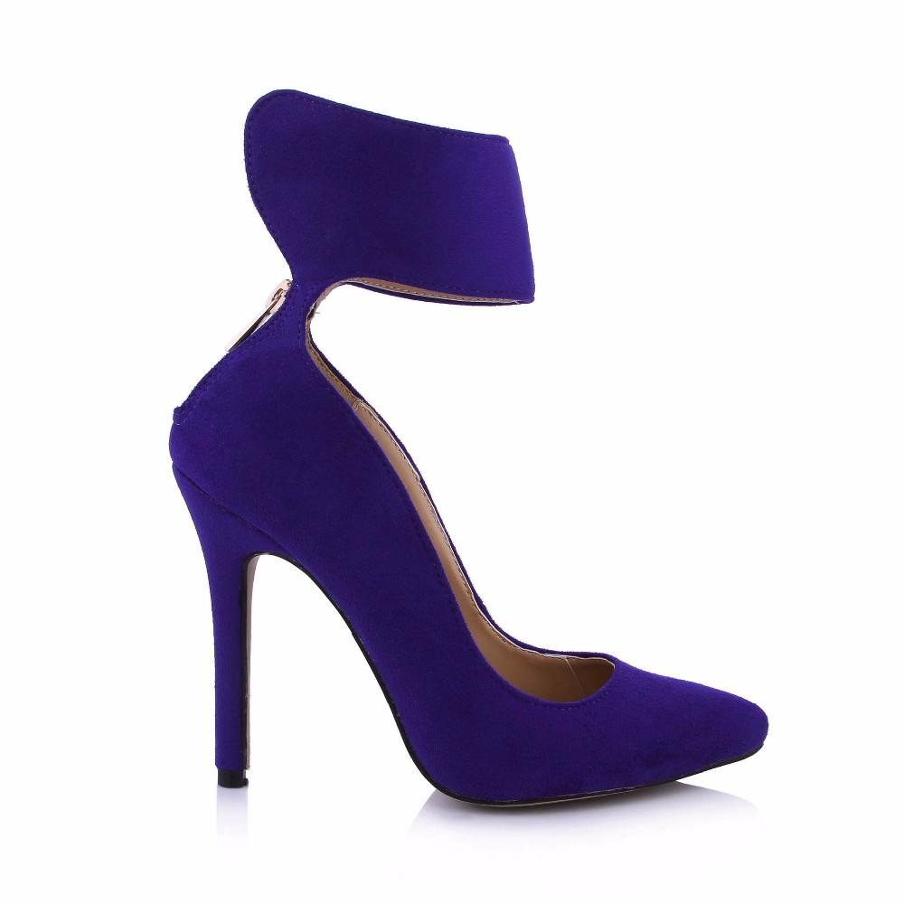 Cobalt Blue High Heel Shoes