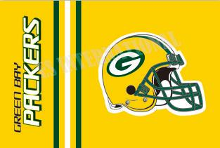 Green Bay Packers Helmet Flag USA Football Flag 3x5 ft custom Banner 90x150cm Sport National Football League flag ES550(China (Mainland))
