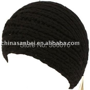 Hand made Knit Headwrap Headband Chunky Ski Solid winter 2010 new fashion