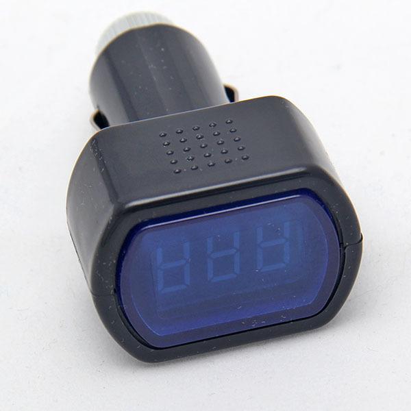 LED Display Car Digital LCD Cigarette Lighter Socket Electric Voltage Digital Panel Meter Volt Voltmeter Monitor(China (Mainland))