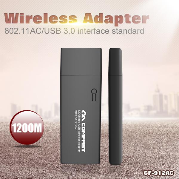 COMFAST 1200Mbps Dual Band 11AC Wireless N 2.4G+5G USB wi-fi WiFi Adapter 802.11ac/a/b/g/n Networking Transmit(China (Mainland))