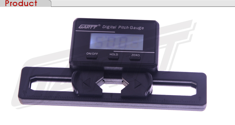Freeshipping 5PCS/LOT GARTT Helicopter Electronic Digital Pitch Gauge For RC Helicopter Big Sale(China (Mainland))