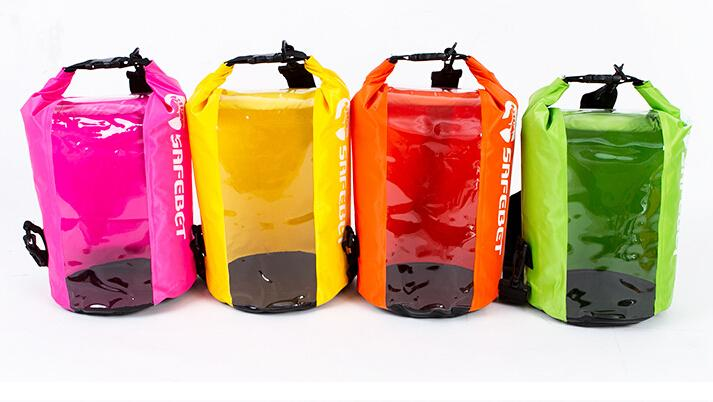 Men Outdoor Travel Bags Multi-functional Rafting Waterproof Bag Compression Sack Dry Bag 8L(China (Mainland))