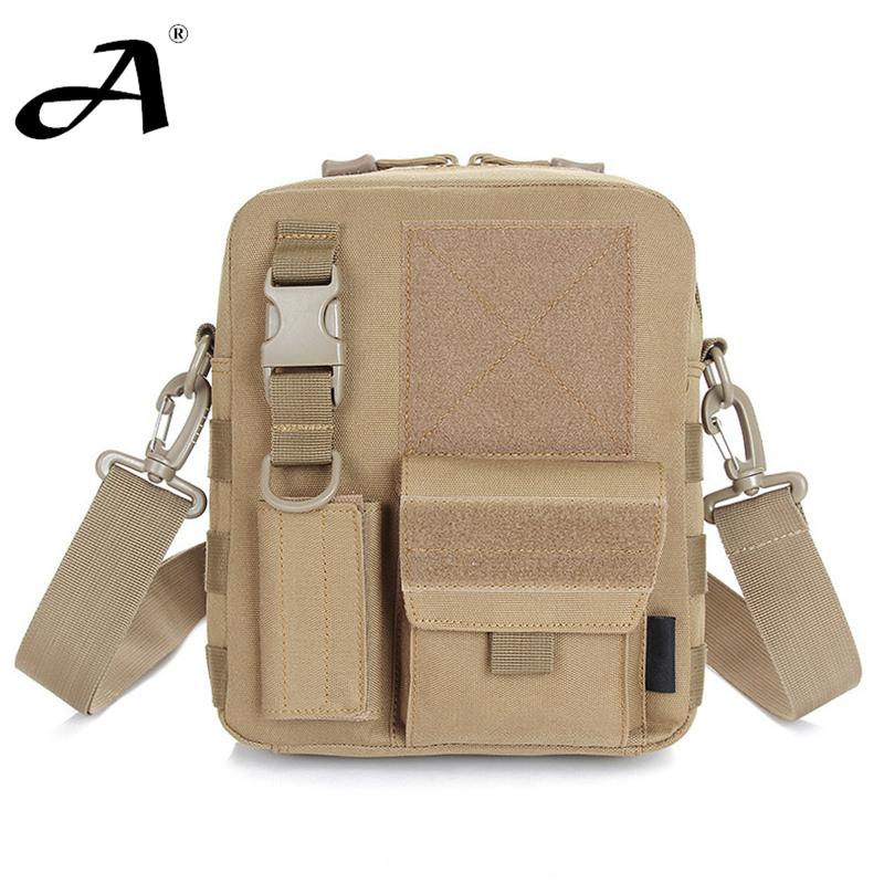 outdoor tactical bag men's shoulder bag messenger edc sport bag camping equipment military accessories camouflage shoulder bag(China (Mainland))
