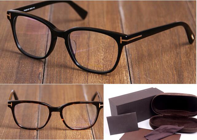 Eyeglasses Wide Frame : Brand Designer Vintage Prescription Eyeglasses for Men ...