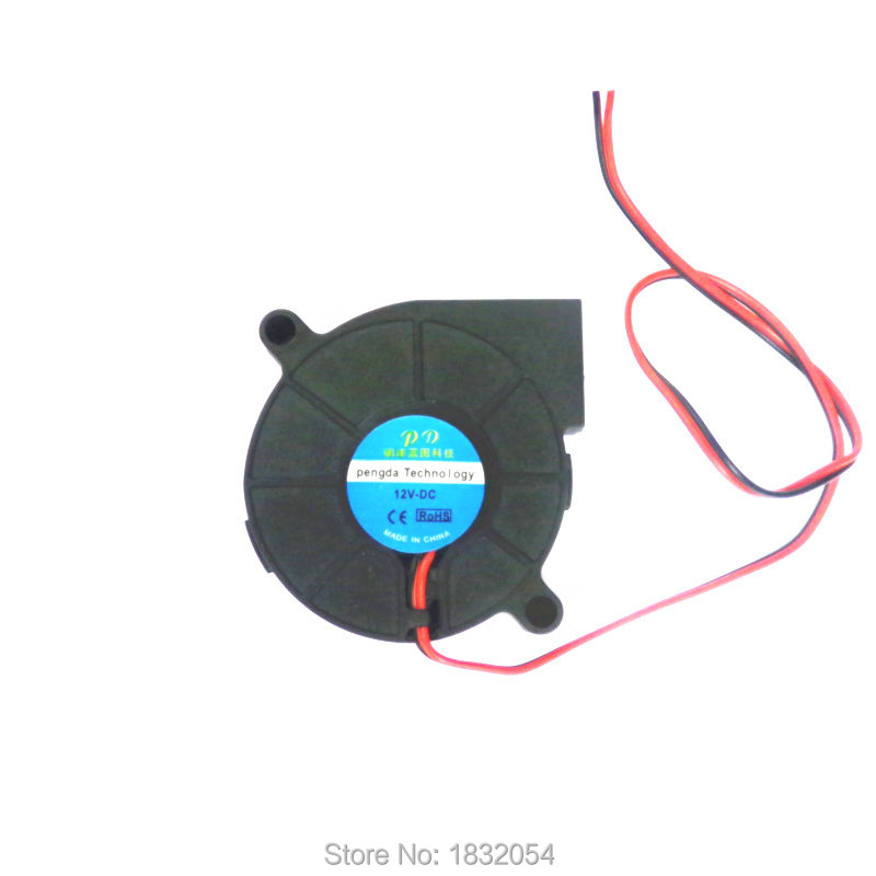 3D printer accessories small turbo blower fan 12V