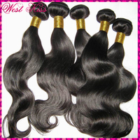 """New arrival! 7A Filipino Virgin human hair weave wefts(body wave) 3pcs/lot(12""""-30"""") No Tangle flawless bundles,fast shipping"""