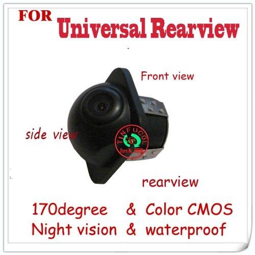 ngith vision car rear/front view/side view camera for Universal camera(all of car) car paking camer reversing park camera(China (Mainland))