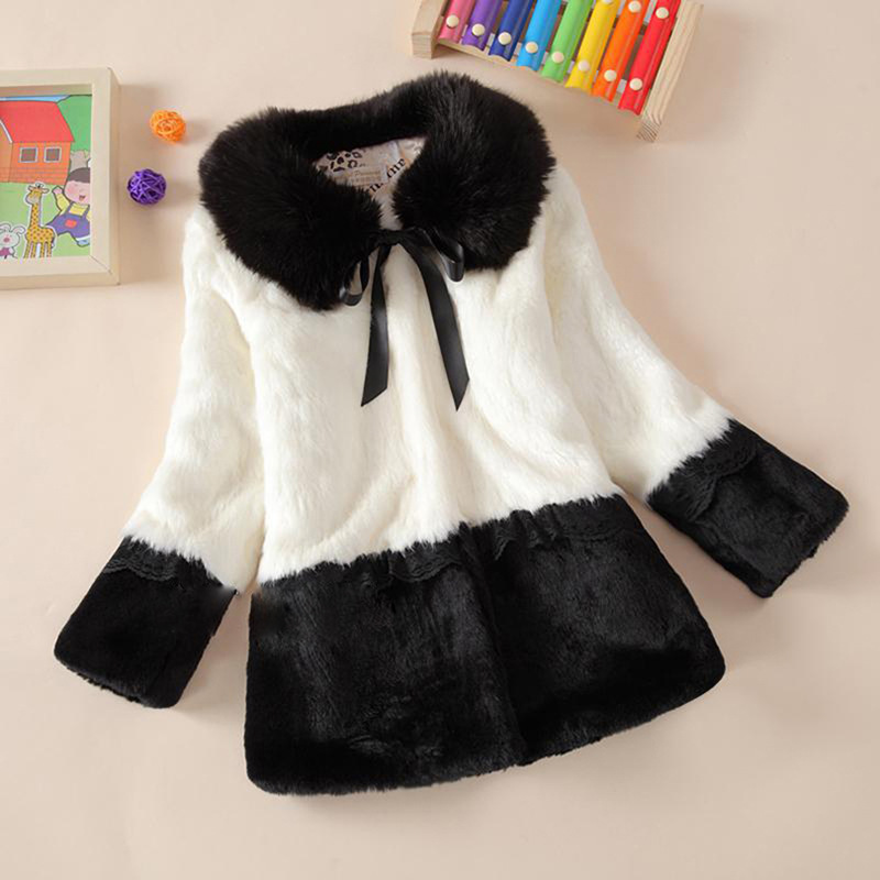 Children Winter Coats Faux Fur Baby Girls Jackets Outerwear Thicken Warm Clothing Kids Coats Jackets For Girl Roupas Infantis Me<br><br>Aliexpress