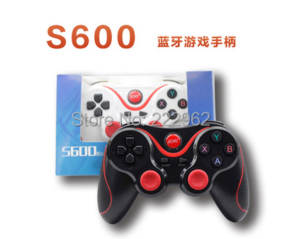 S600 Wireless Bluetooth Joy Stick Gamepad Controller for Android Controller on Tablet pc TV Box Mobile Phone(China (Mainland))