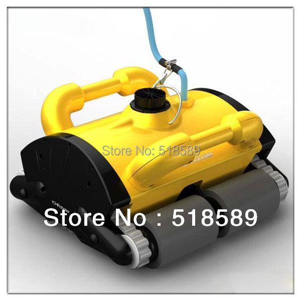 China orginal Swimming pool automatic cleaning equipment,Newest type Pool intelligent vacuum cleaner with Remote controller(China (Mainland))