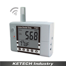 Buy AZ-77231 Wall Mounting CO2 & Temperature Monitor Tester for $259.47 in AliExpress store