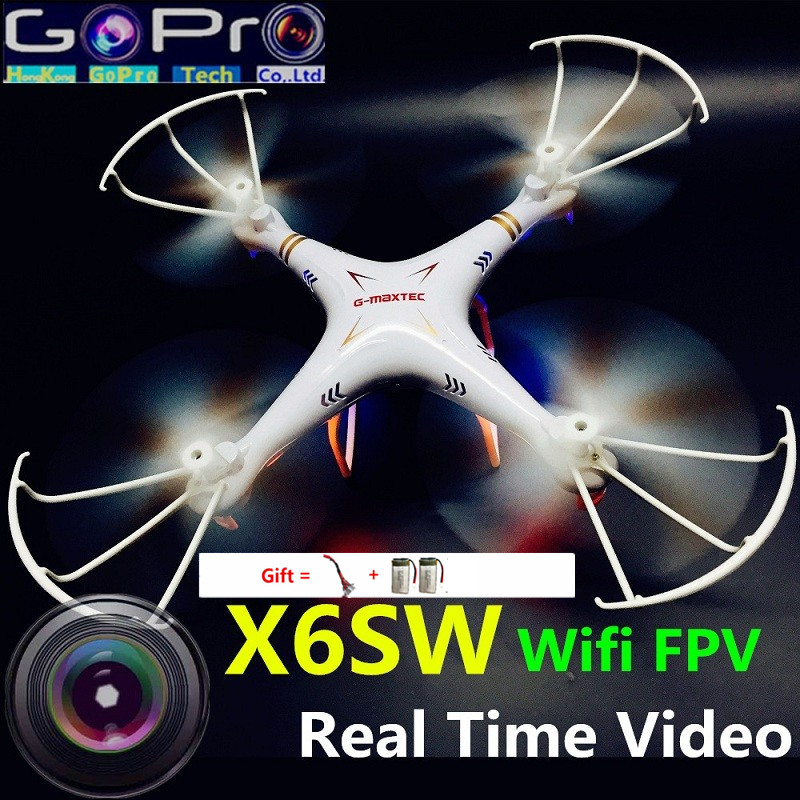 X6sw dron WIFI Fpv Toys drone with camera rc helicopter drone fpv quadcopter professional drones with camera hd VS X5SW MJX X101<br><br>Aliexpress