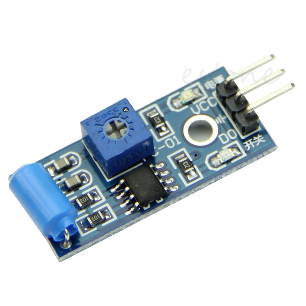 Гаджет  U119 Free Shipping SW-420 Motion Sensor Module Vibration Switch Alarm Sensor Module for Arduino None Электронные компоненты и материалы
