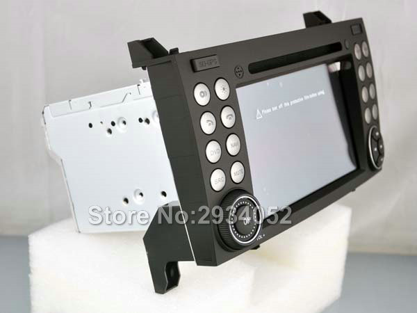 S160 Android Car Audio FOR MERCEDES-BENZ SLK Class car dvd gps player multimedia navigation head unit device BT WIFI 3G
